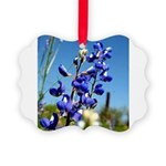 24x24 Bluebonnet Picture Ornament