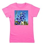 24x24 bluebonnet Girl's Tee