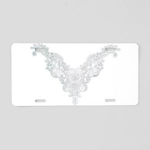 Victorian Lace Aluminum License Plate