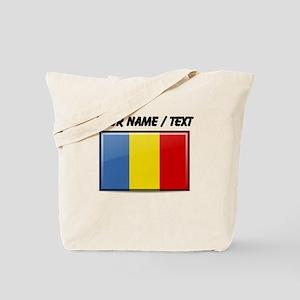 Romania Flag (Custom) Tote Bag
