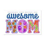 Awesome Mom Mini Poster Print