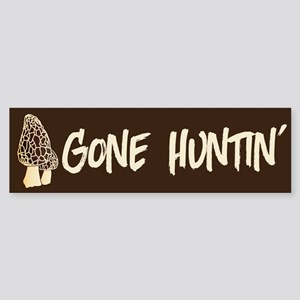 Gone Huntin' Bumper Sticker