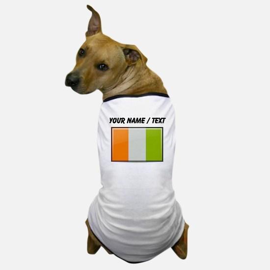Ivory Coast Flag (Custom) Dog T-Shirt