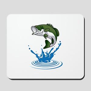 Bass Jumping Mousepad