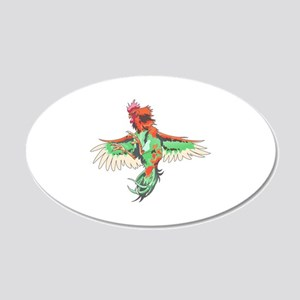 Fighting Rooster Wall Decal