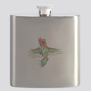 Fighting Rooster Flask