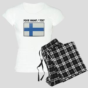 Finland Flag (Custom) Pajamas