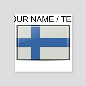 Finland Flag (Custom) Sticker