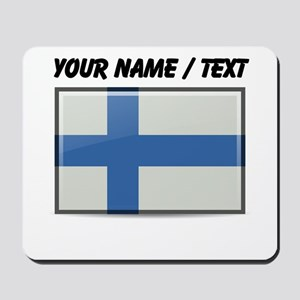 Finland Flag (Custom) Mousepad