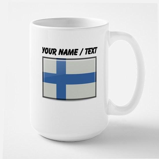 Finland Flag (Custom) Mugs