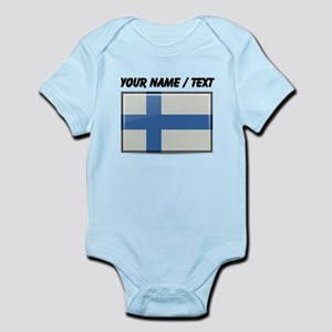Finland Flag (Custom) Body Suit