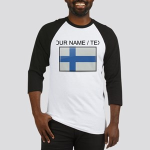 Finland Flag (Custom) Baseball Jersey