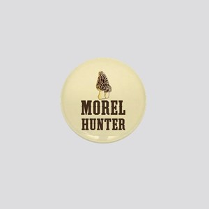 Morel Hunter Mini Button
