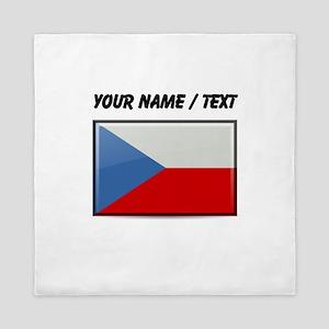 Czech Republic Flag (Custom) Queen Duvet
