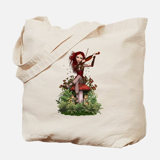 Coral Fairy ~ Summer Melody Tote Bag