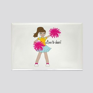 Love To Cheer! Magnets