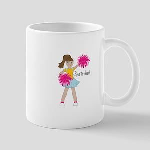 Love To Cheer! Mugs