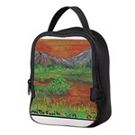 Countryside Sunset Neoprene Lunch Bag
