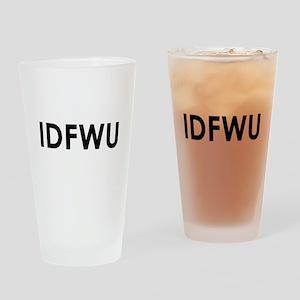 IDFWU Drinking Glass