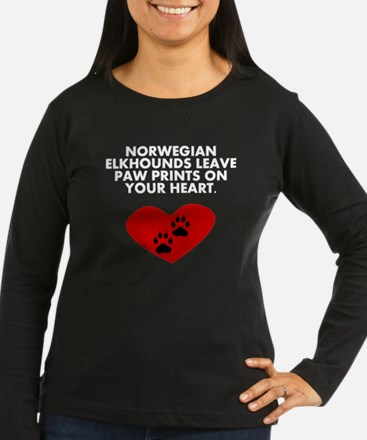 Norwegian Elkhounds Leave Paw Prints On Your Heart