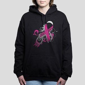breast cancer awareness Women's Hooded Sweatshirt