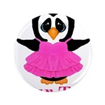 Personalizable Penguin in Pink 3.5