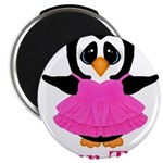 Personalizable Penguin in Pink Magnets