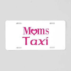 Moms Taxi Aluminum License Plate