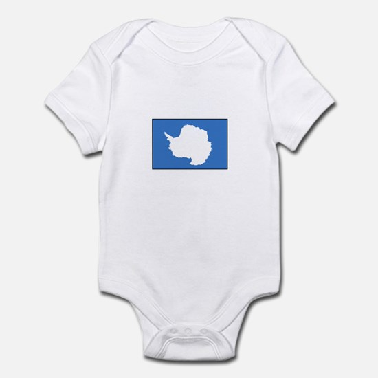 Antarctica Flag Infant Bodysuit