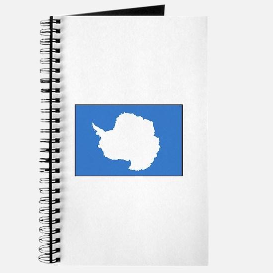 Antarctica Flag Journal