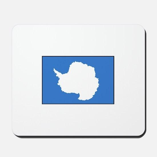 Antarctica Flag Mousepad