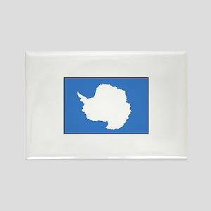 Antarctica Flag Rectangle Magnet