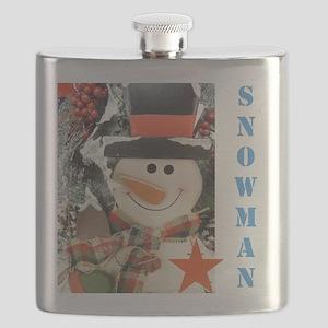 Snowman Star. Flask