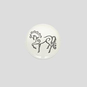 Celtic Horse Mini Button