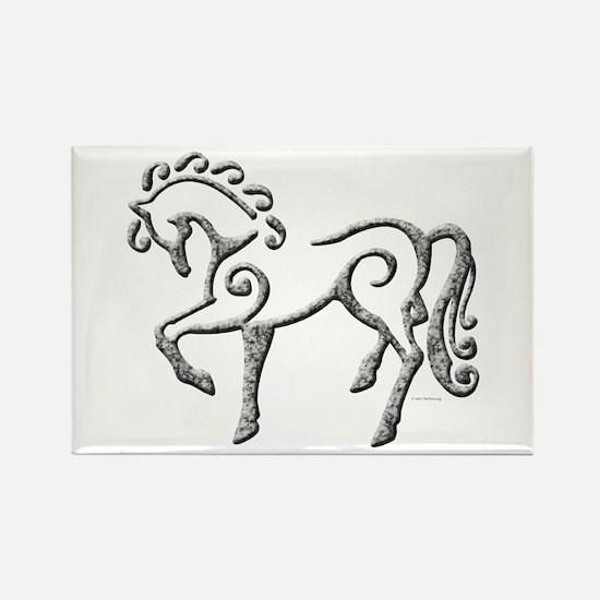 Celtic Horse Rectangle Magnet