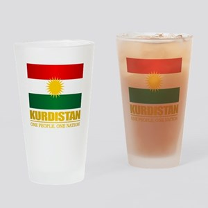 Kurdistan 2 Drinking Glass