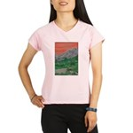 Sunset Mountains Performance Dry T-Shirt