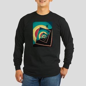Spinning Disc Golf Baskets 2 Long Sleeve T-Shirt