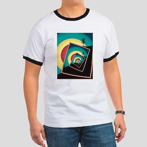 Spinning Disc Golf Baskets 2 T-Shirt