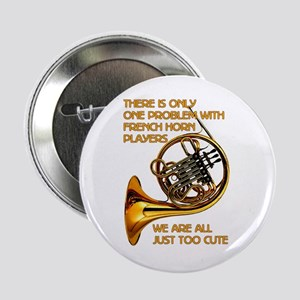 "French Horn Cutie 2.25"" Button (10 Pack)"
