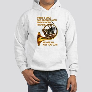 French Horn Cutie Hooded Sweatshirt