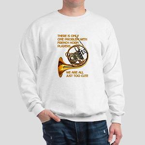 French Horn Cutie Sweatshirt