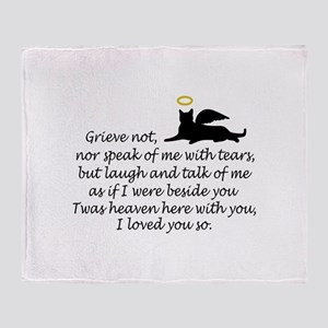 I LOVED YOU SO Throw Blanket