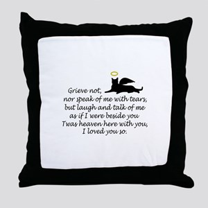I LOVED YOU SO Throw Pillow