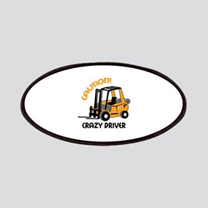 CRAZY FORFLIFT DRIVER Patches