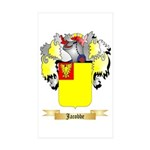 Jacobbe Sticker (Rectangle 50 pk)