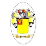 Jacobbe Sticker (Oval 50 pk)