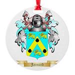 Jacmard Round Ornament