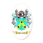 Jacmard Oval Car Magnet