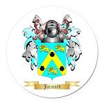 Jacmard Round Car Magnet